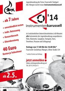 Instrumentenkarussell 2014