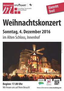 Weihnachten im Alten Schloss am 4. Dezember 2016