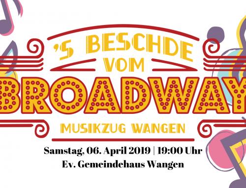 Willkommen am Broadway! Unser Frühjahrskonzert 2019